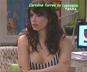 Carolina Torres sensual na novela espelho água