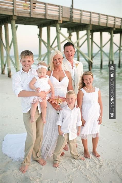 vow renewal with kids!   Mom & Dad's Vow Renewal!   Pinterest