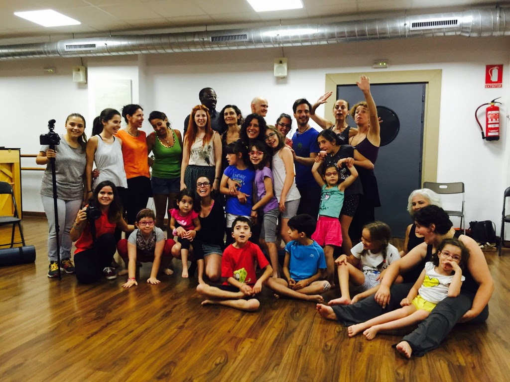 Our wonderful new community of choreographers/dancers/scientists