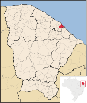 Localização de Aquiraz