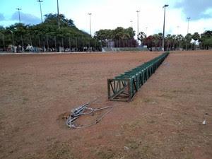 Segundo o Corpo de Bombeiros, ninguém se feriu (Foto: Ana Regina)