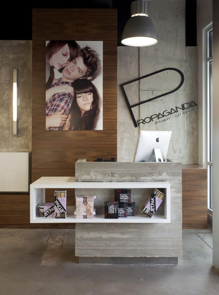 Propaganda Hair Salon By Dick Clark Architecture