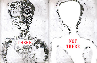 there not there by allan revich, altered original image by david-baptiste chirot