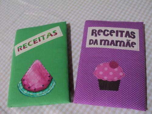 Caderno de Receitas by Fazendo Arte by Ana Tulio