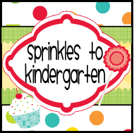 Sprinkles to Kindergarten