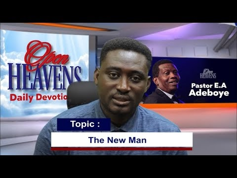 Open Heaven 9 April 2021 – The New Man
