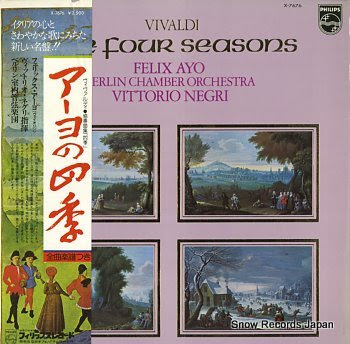 AYO, FELIX vivaldi; the four seasons