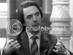 Aznar, en una entrevista reciente
