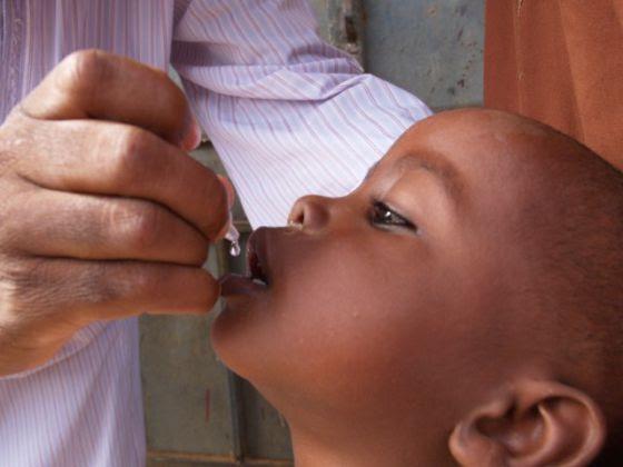 Campaña de vacunación contra la polio en Nigeria.