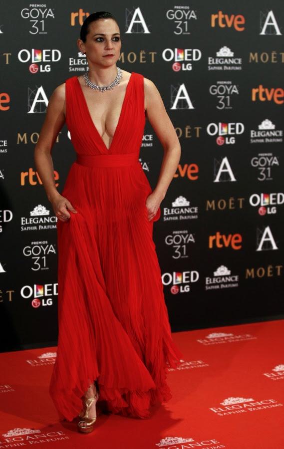 La alfombra roja de los Goya 2017 - Fotos La alfombra roja ...