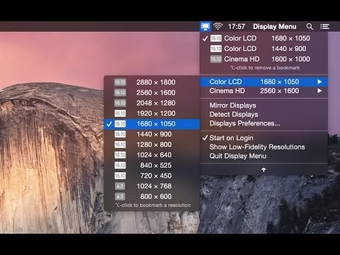 How to Make a Full Screen Resolutions on Mac OS X Hackintosh