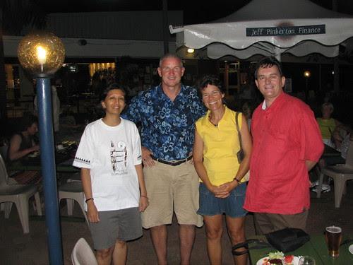 Jayshree, Joe and Beth Rooney, self
