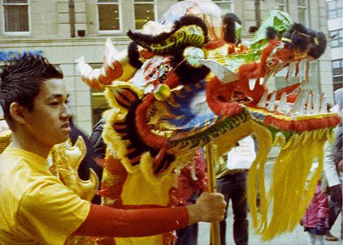 dragon dance (head) by pho-Tony