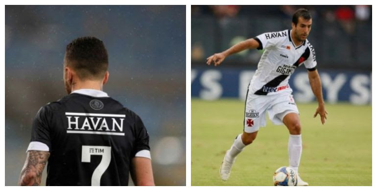 Fotos obtidas com exclusividade pelo DIÁRIO DO RIO de como ficaria o uniforme do Vasco com o possível patrocínio da Havan
