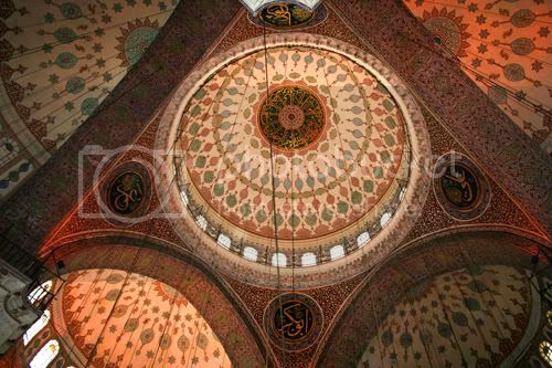 The roof of the New Mosque