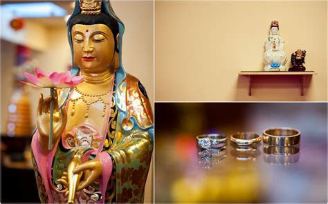 Hoa Nghiem Temple: Lynn & Thanh's Vietnamese Buddhist