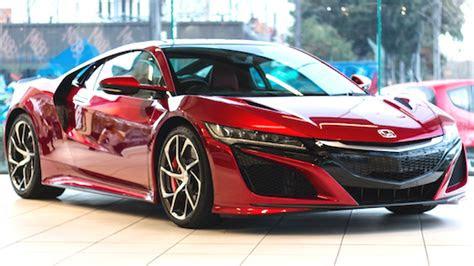 honda nsx rumors car  release