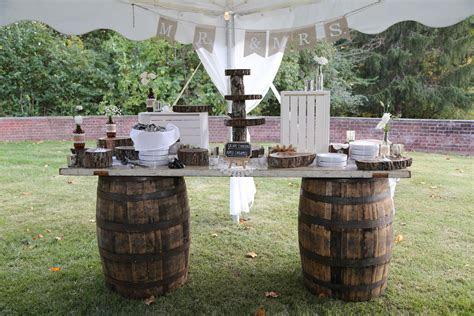 Rustic Wedding Decorations   Agogo Rentals   Cincinnati, OH