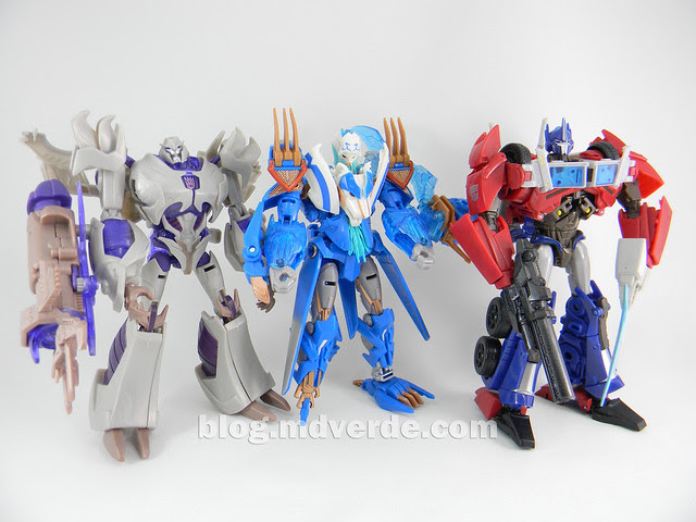 Transformers Thundertron Voyager - Prime RID - modo robot vs otros Voyagers