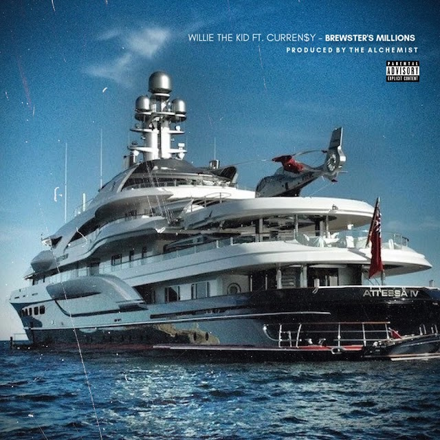 Willie the Kid - Brewster's Millions (feat. Curren$y) (Explicit) - Single [iTunes Plus AAC M4A]