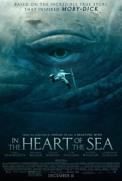 Resultado de imagem para in the heart of the sea movie poster