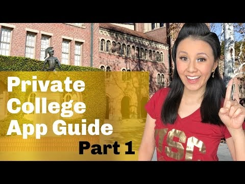 College Guide: Everything you need to know about applying to Private Colleges - Part 1 (2021 UPDATE)