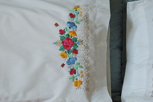 Mahanandi » Home as a Hobby ~ Pillow Embroidery