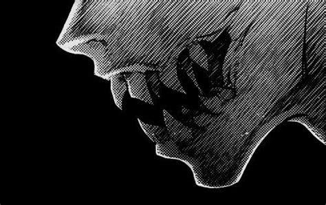 fangs sharp teeth demon monster anime anime