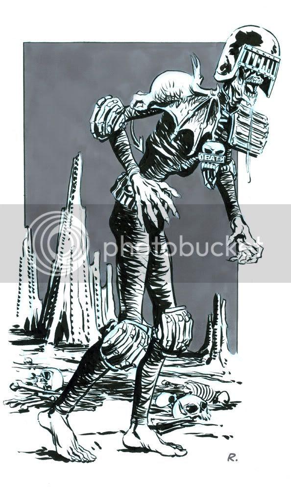 Graeme Neil Reid,Illustration,2000ad,Judge Death