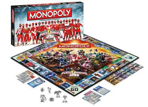 Monopoly Power Rangers