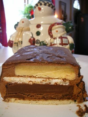 Daring Baker's French Yule Log - Dec Challenge