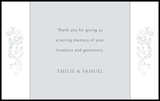 thank you card template printable. thank you card template.
