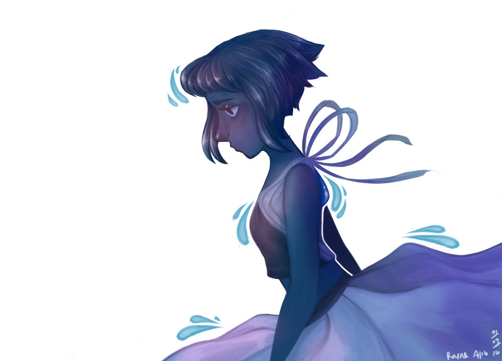 A Lapis picture I drew a while ago for a friend