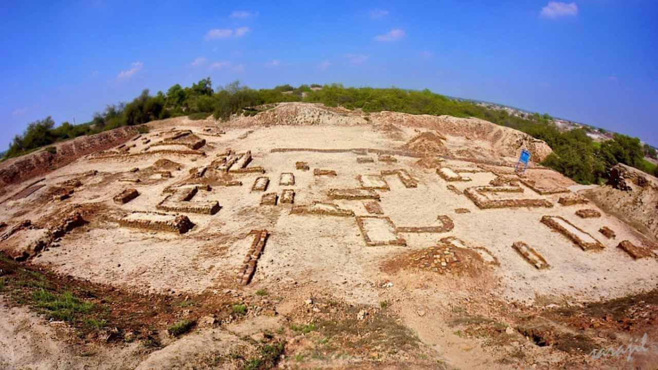 Ruins of the Harappan civilisation. Image credit: Wikipedia/Sara jilani