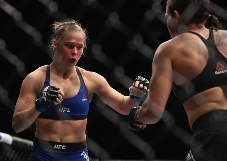 Rousey Quotes Jk Rowling About Hitting Rock Bottom On Instagram