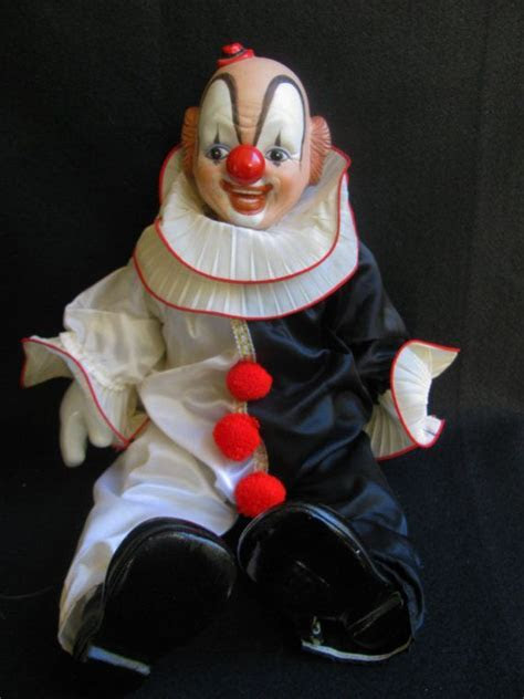 Vintage Porcelain Clown 1980's   Pinterest   Clowns