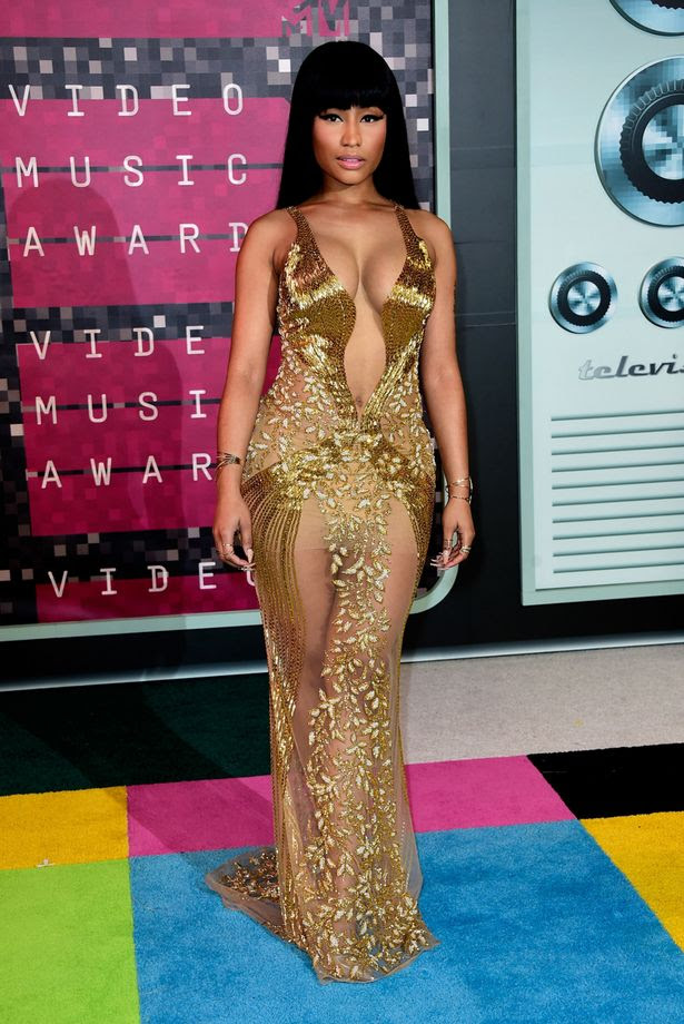 Nicki Minaj at the 2015 MTV Video Music Awards