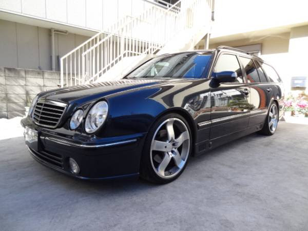 2001 mercedes benz e320 avantgarde wagon for sale in japan ...