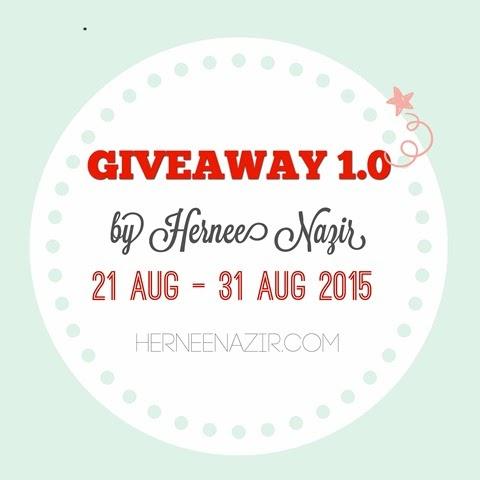 Giveaway 1.0 by Hernee Nazir