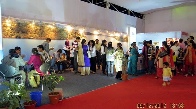 Pune Property Exhibition - Sakal Vastu - Property Expo - December 2012 - 19