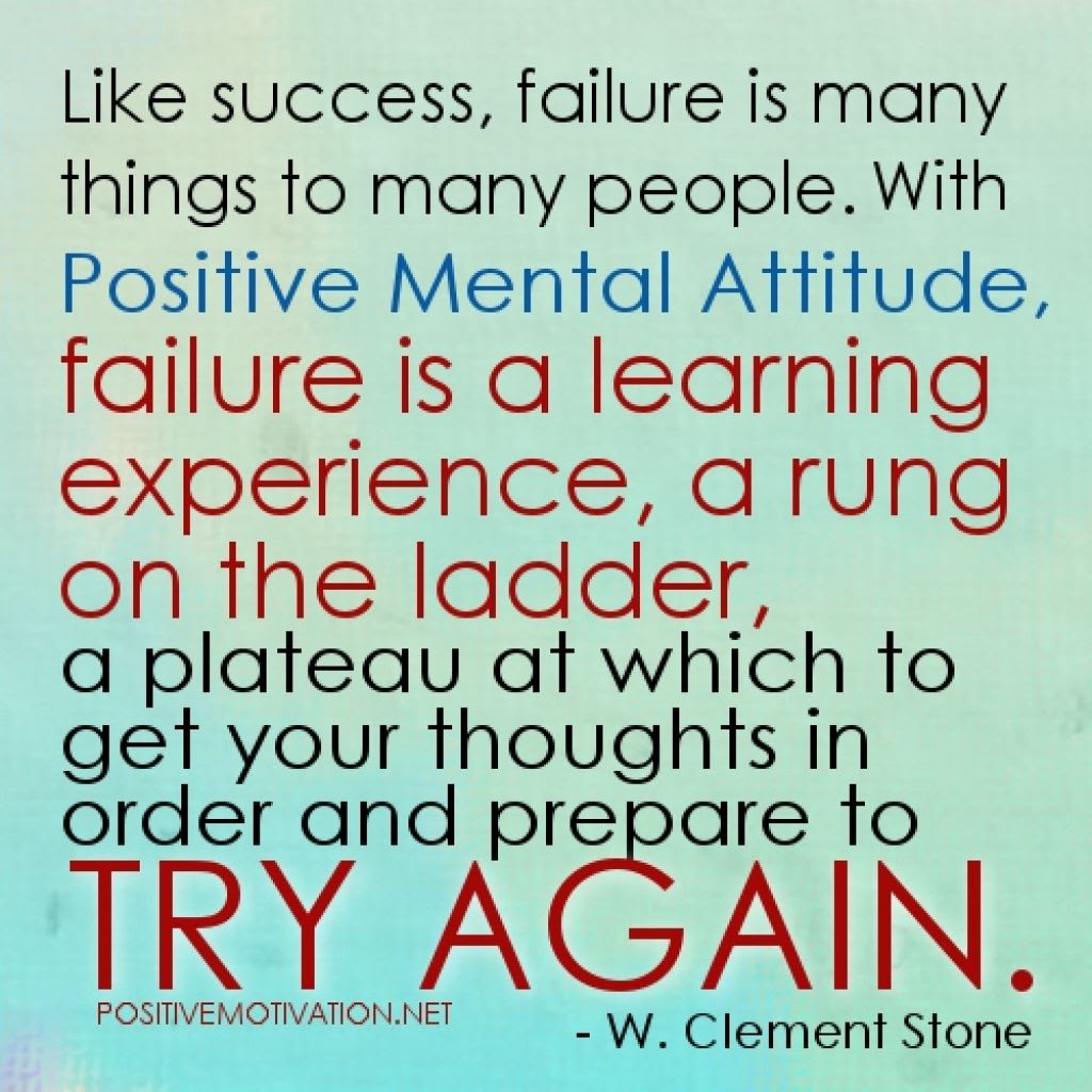 Quotes About Positive Failure 43 Quotes