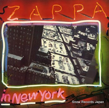 ZAPPA, FRANK zappa in new york