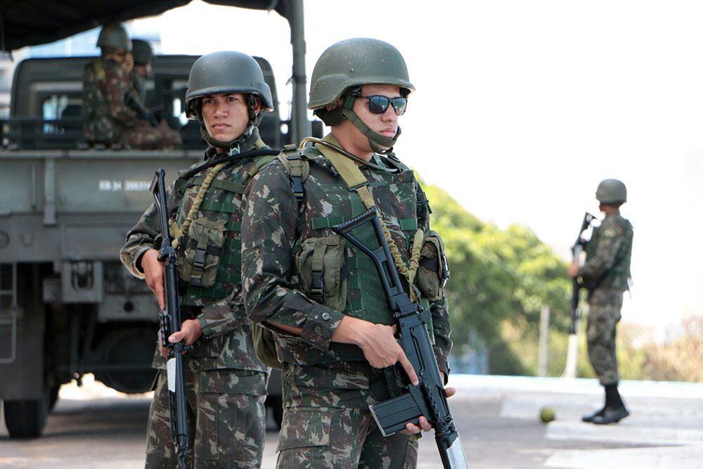 Resultado de imagem para tropas federais no rn