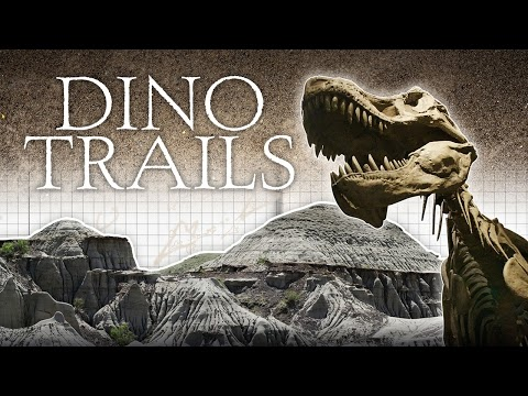"""Canadian paleontologists tell their stories in """"Dino Trails"""""""