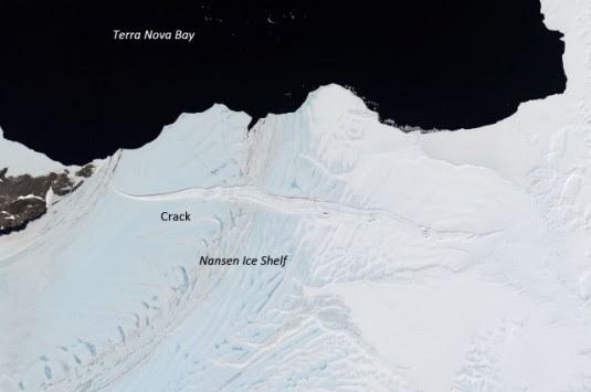 Συναγερμός στην Ανταρκτική! Τεράστια ρωγμή σε τράπεζα πάγου
