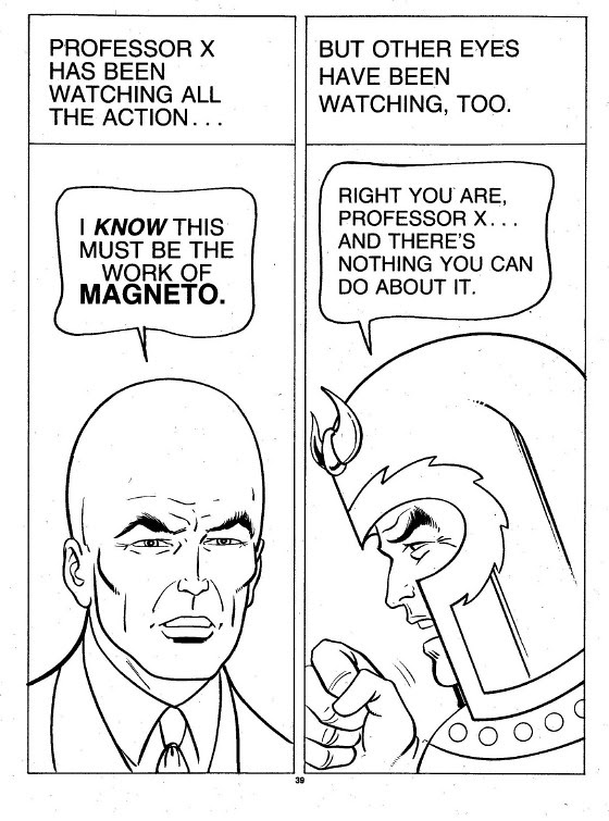 X-Men Super Activity Book00040
