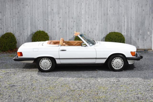 1989 Mercedes-Benz 560-Class 560 SL 31,000 Miles WHITE ...