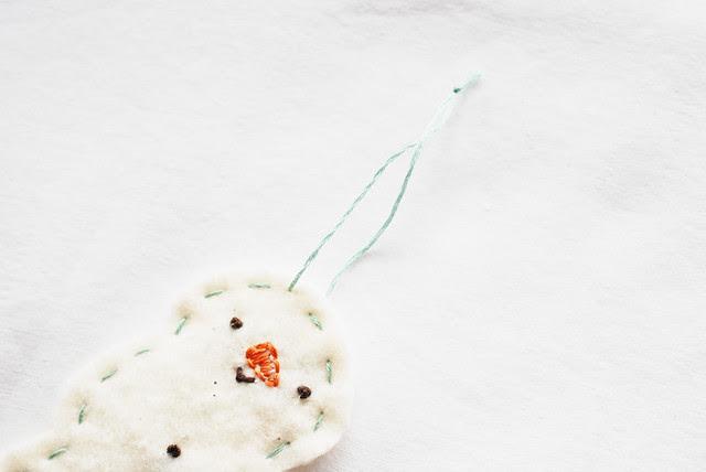 25 crafts of christmas // batting