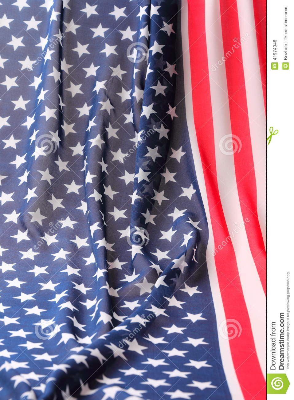 Decoration In American Flag Style Stock Photo  Image: 41974046