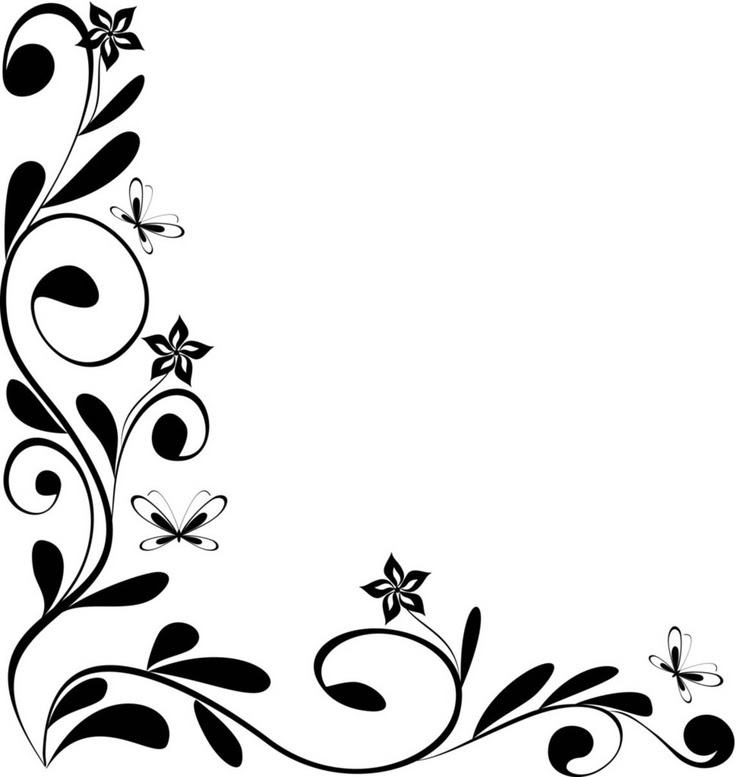 Free Black And White Border Designs Download Free Clip Art Free